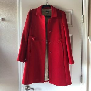Darling red J Crew jacket